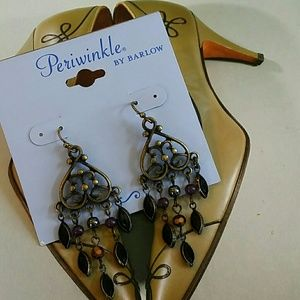 Periwinkle by Barlow Earrings New with tag